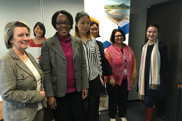 BRS Secretariat staff help highlight the importance of women and girls in science