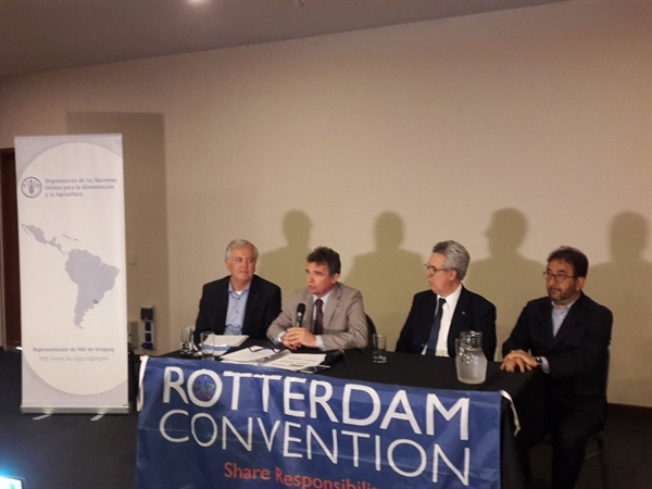 Regional meeting in Uruguay builds capacity for Rotterdam Convention implementation